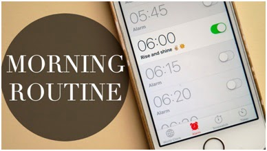 morning routine - habits of successful people