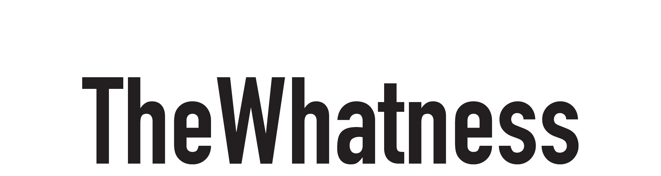 TheWhatness vector 2268x604