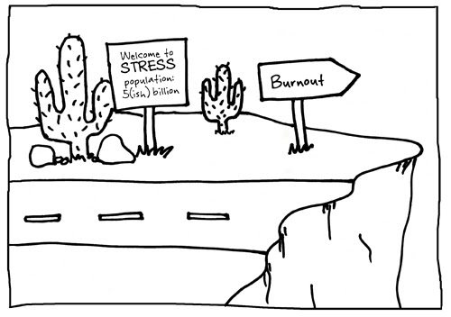 stress to burnout