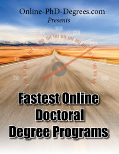 Fastest Online Doctoral Degree Programs
